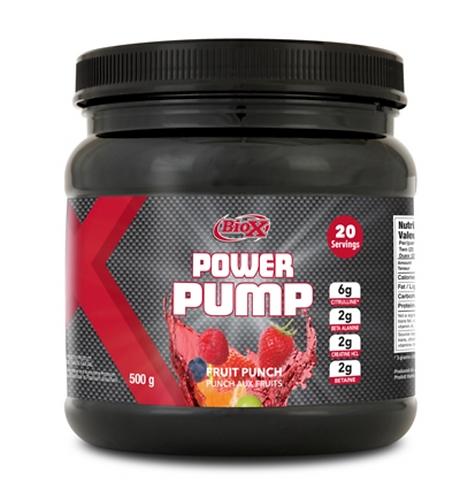 BioX Performance Nutrition Power Pump Fruit Punch (500g tub)