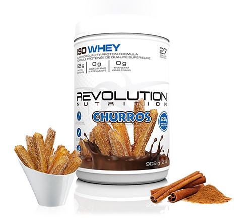 Revolution Nutrition Whey Isolate Churros (2lbs tub)