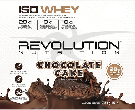 Revolution Nutrition Whey Isolate Chocolate Cake (1+ servings)