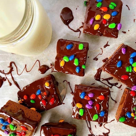 Protein Cosmic Brownie: A dessert out of this world!