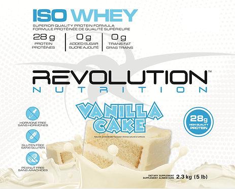 Revolution Nutrition Whey Isolate Vanilla Cake (1+ servings)