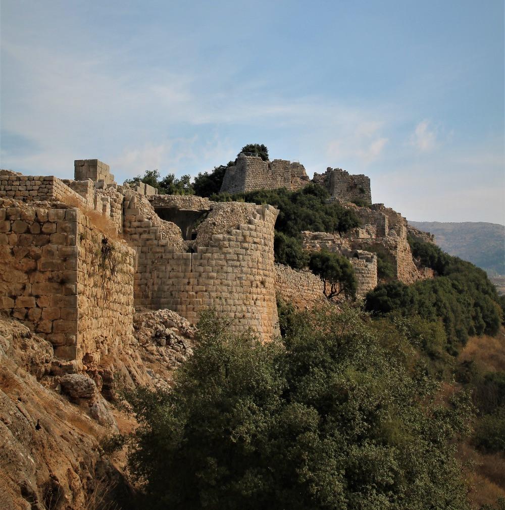 מבצר נמרוד בצפון רמת הגולן