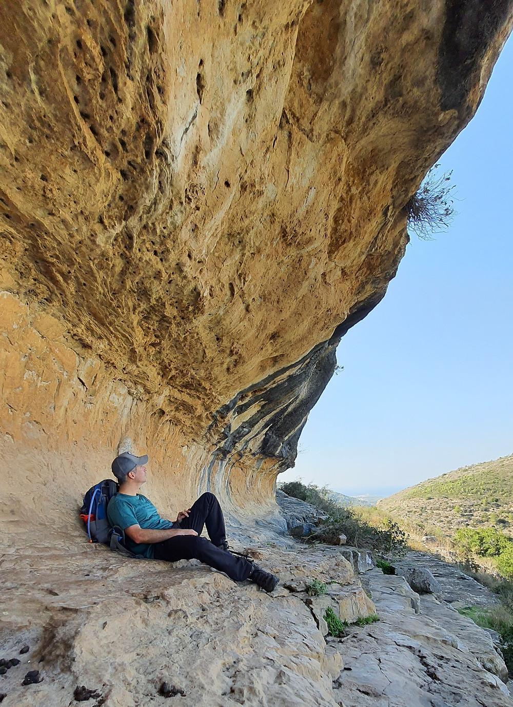 הצניר במערת ישח בכרמל