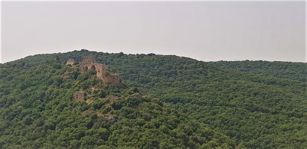 נוף של מבצע המונפור בגליל המערבי מעל נחל כזיב