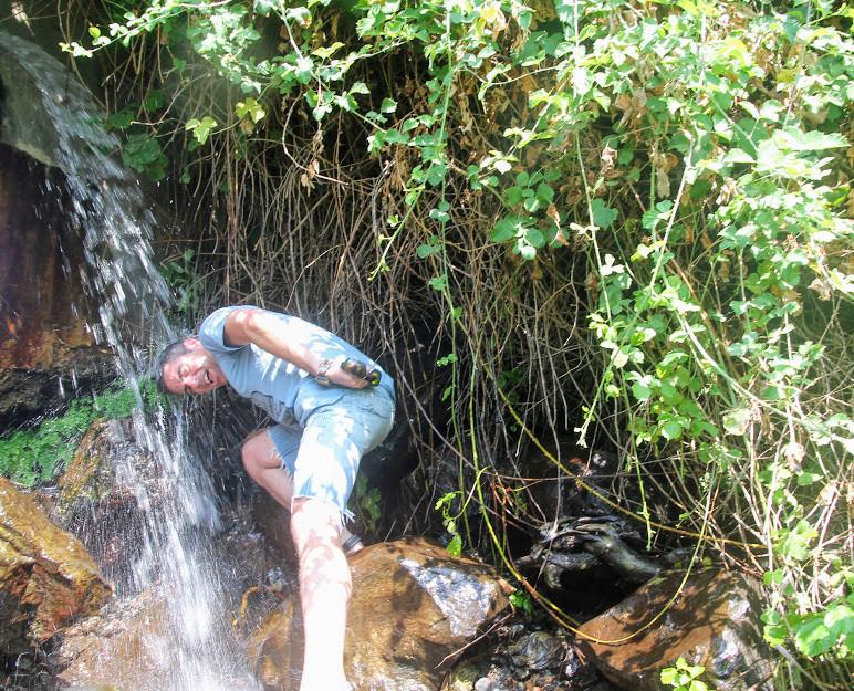 עין תינה מסלול מים לילדים בצפון