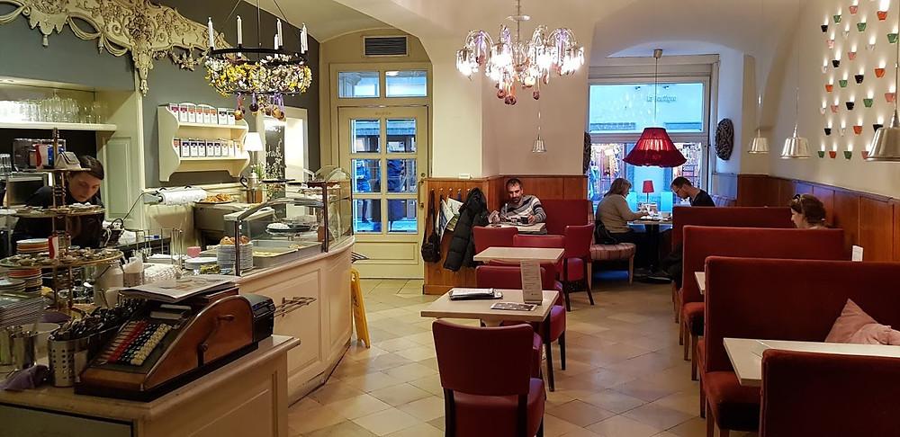Café Diglas am Fleischmarkt