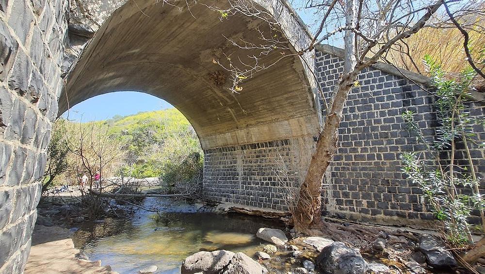 הגשר הסורי בנחל סמך ברמת הגולן