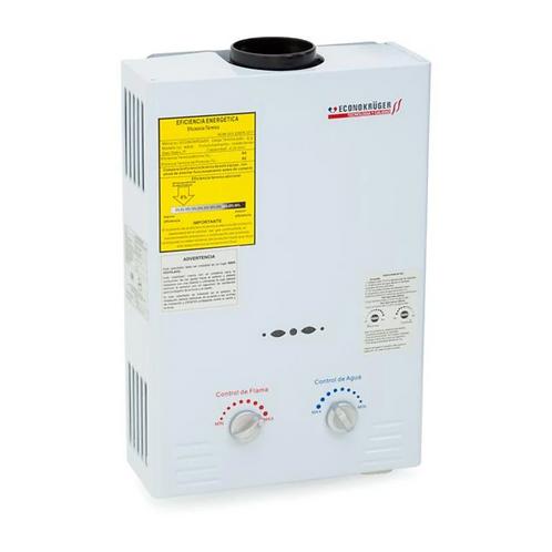 Calentador Instantáneo Kruger Mod 4406 Gas 6L