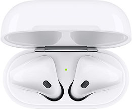 Apple AirPods with Charging Case-$129