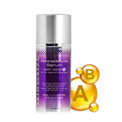 Skin Script Retinaldehyde Serum w/Iconic A 1oz.