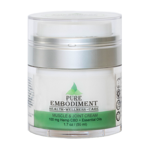 Pure Embodiment CBD Muscle & Joint Creme-100mg