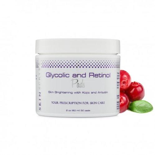Skin Script Gylcolic and Retinol Pads-50 pads
