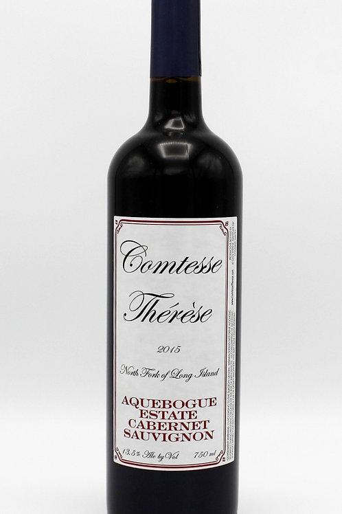 2015 Comtesse Therese Aquebogue Estate Cabernet Sauvignon
