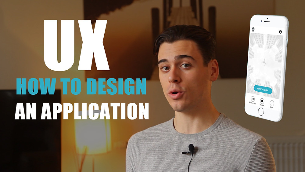 How to design an application in UX
