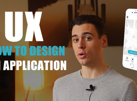 Step by Step UX methods on how to design an application from scratch