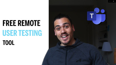 How to do remote user testings for free