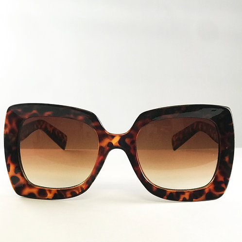 Level Up Leopard Sunglasses