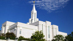 LDS Bountiful Temple - Utah