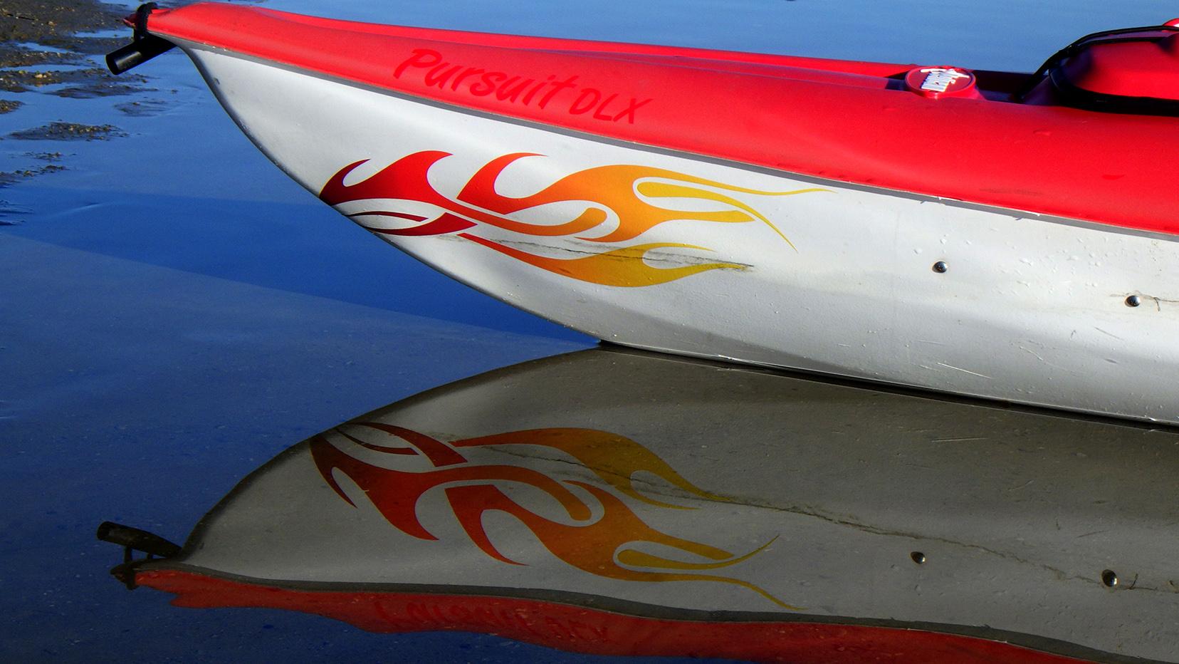 Kayak Nose Art