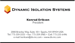 Dynamic Isolation Systems