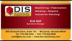 DIS Machining & Fabrication