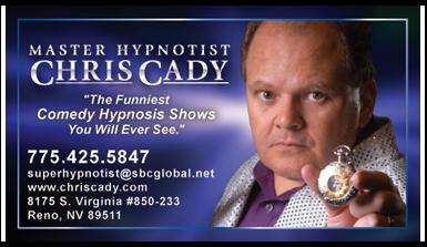 Master Hypnotist Chris Cady