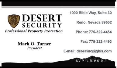 Desert Security