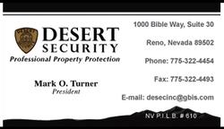 Desert Security
