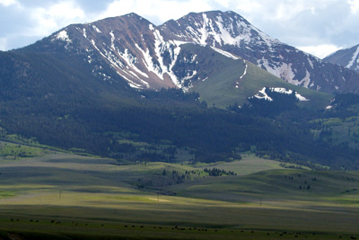 Montana side of Monida Pass