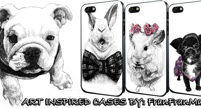 my 1st ever Phone Case series is ready