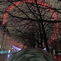 30 pm in London - rainy and dark #london