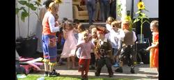 dancing children's party