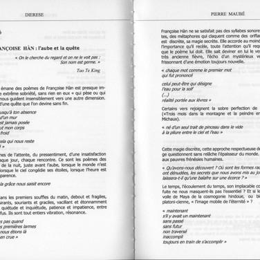 Revue Diérèse automne 2007
