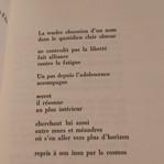 Françoise Hàn poème