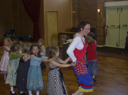 Pee-wee children's party conga