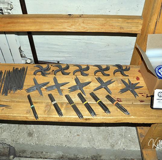 鎌倉市で手裏剣術道場