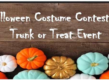 Halloween Costume Contest & Trunk or Treat Event
