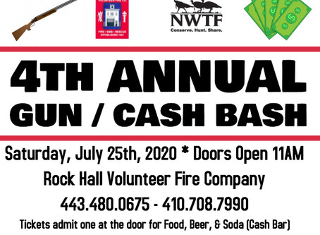 RHVFC and NWTF - 4th Annual Gun/Cash Bash