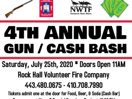 RHVFC and NWTF - 4th Annual Gun/Cash Bash