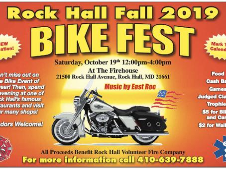 Rock Hall Fall 2019 Bike Fest