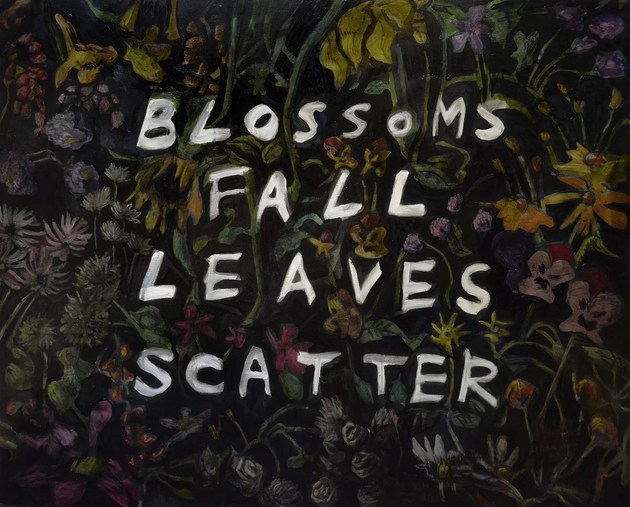 2015  The Autumn Song 1300×1620mm キャンバスに油彩