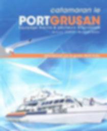Flyer du catamaran Port-Grusan