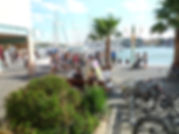 "Embarcadère du ""Port-Grusan"""