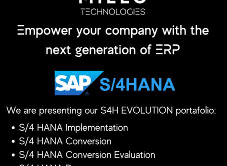 SAP S/4 HANA EVOLUTION
