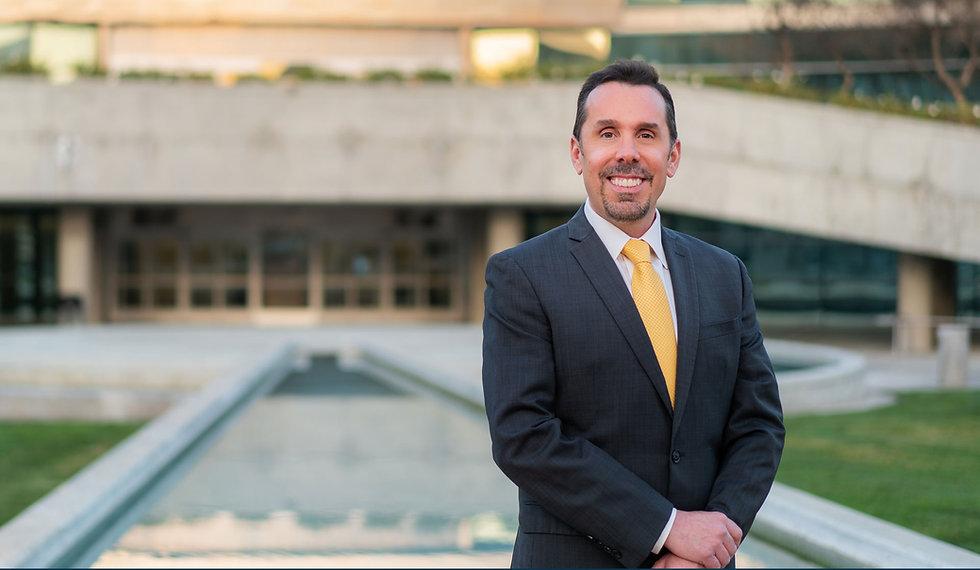 Cary Catalano at Fresno City Hall