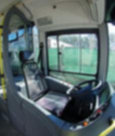 Butaca con suspención hidráulica para bus