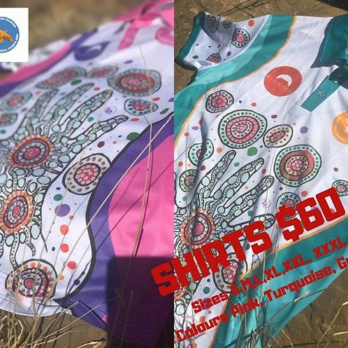 Aboriginal pattern shirt