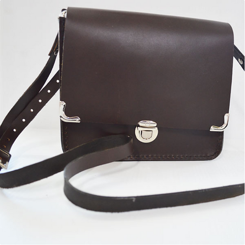 Plain Leather Handbag