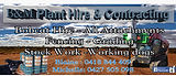 B & M plant hire contracting promotion.j