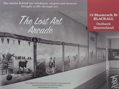 Lost Art Arcade Book